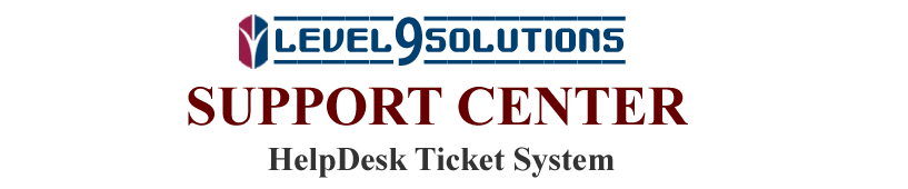 Level9Solutions Customer Help Center
